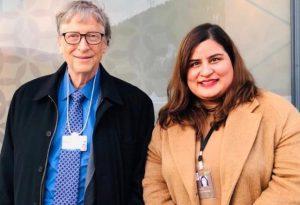 Bill Gates and Dr Chitwan Malhotra
