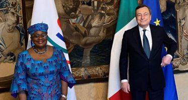 WTO: DG Okonjo-Iweala talks COVID response, recovery with Italian officials