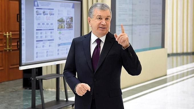 President of Uzbekistan: Shavkat Mirziyoyev