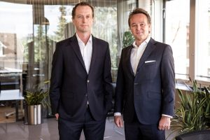 CEO Rolf Bauer and COO Gian Nay