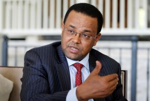 Yinager Dessie, Governor of Ethiopia's Central Bank. Photo: © Mustafa Kamaci/Getty Images