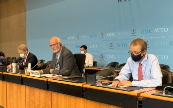 WTO: Members approach text-based discussions for an urgent IP response to COVID-19