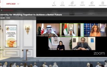 UAE's International Human Fraternity Virtual Summit Successfully Concluded