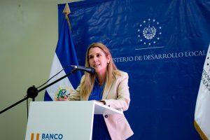 Celina Padilla Meardi, president of Banco Hipotecario de El Salvador