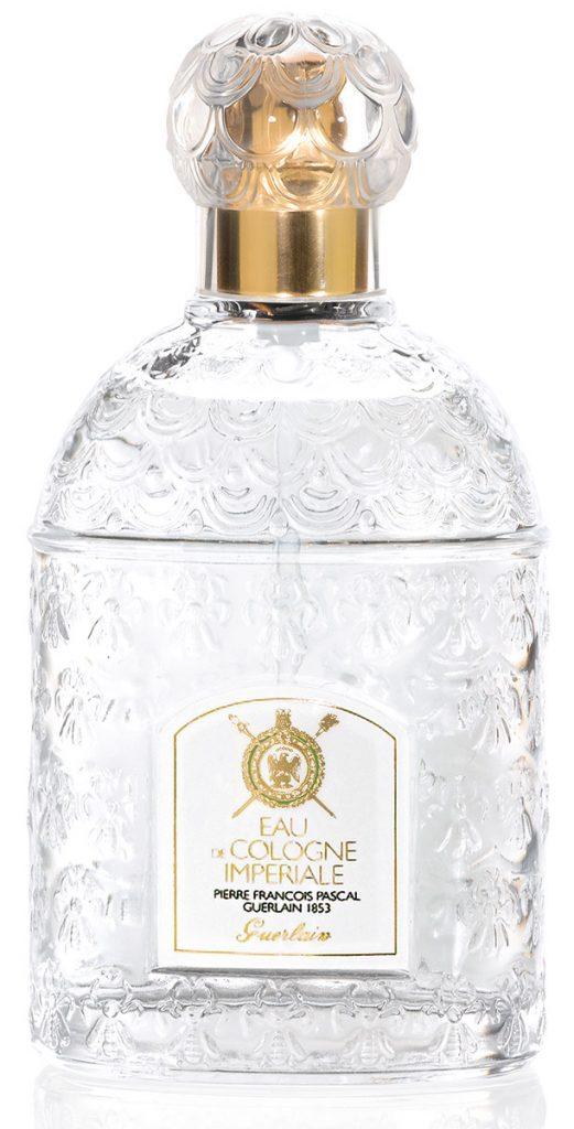 Guerlain Eau de Cologne Impériale still features the bees on the bottle